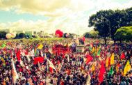 Niterói também teve protestos contra as reformas e o governo Temer no dia 30 de junho