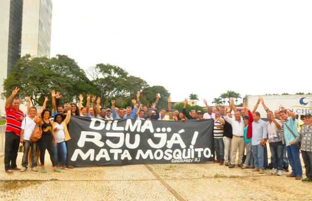 Há cinco anos, mata-mosquitos da Funasa conquistavam mudança para o RJU