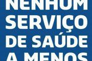 Nesta quinta (24), saúde municipal protesta no Largo do Machado contra demissões