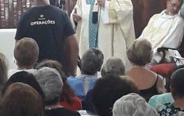Dom Orani homenageia mata-mosquitos da Funasa em missa pelo Dia do Enfermo