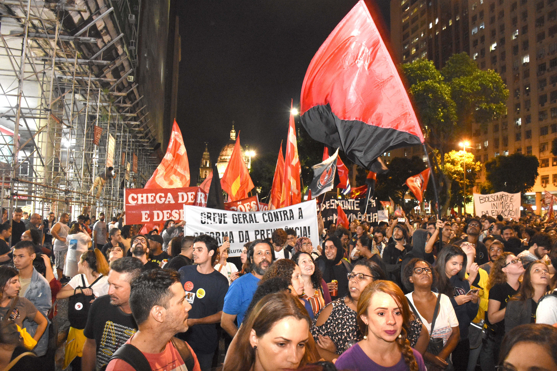 Saúde e INSS têm que estar presentes na greve geral do dia 14/6