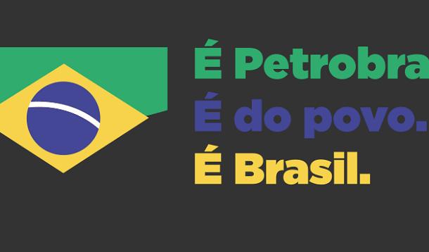 Ato para Avenida Chile e mostra a força da greve na Petrobras