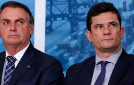 Grande aliado de Bolsonaro, Moro abandona o navio que afunda