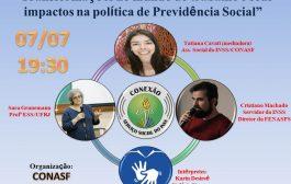 Comissão de Assistentes Sociais da Fenasps promove videoconferência (Live) nesta terça-feira (7/7)