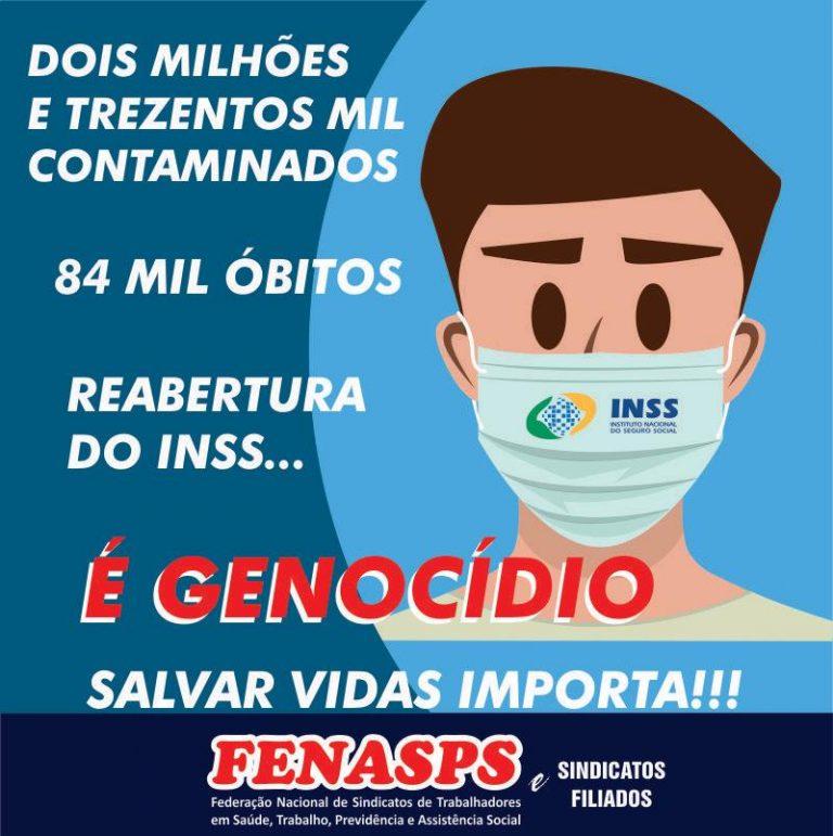Nota da Fenasps aos servidores do INSS