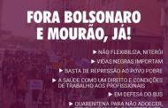 Na sexta (10/7), manifestação em Niterói vai exigir 'Fora Bolsonaro e Mourão, Já!'