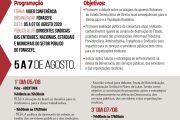 De 5 a 7 de agosto, Fonasefe promove seminário em defesa dos serviços públicos