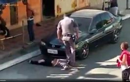 Agressões de PMs contra mulher negra em SP chocam e guardam semelhança com caso Floyd (EUA)