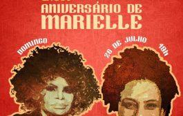 Elza Soares canta para homenagear Marielle Franco