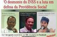 Videoconferência sobre INSS: para debatedores, apoio de segurados é fundamental para defender a previdência