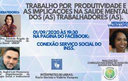 Na terça (1/9), videoconferência debate produtividade e consequências na saúde dos trabalhadores