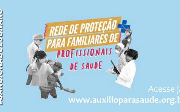 Bolsonaro tem de sancionar o PL que indeniza familiares de profissionais vitimados pela covid