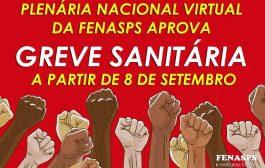 Plenária da Fenasps indica greve sanitária do INSS a partir desta terça-feira (8/9)