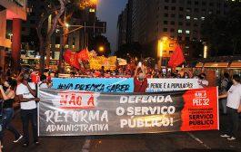 Nesta quinta (8/10), plenária virtual organiza próximas mobilizações contra reforma administrativa