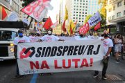 Assista à reportagem da WEBTV Sindsprev/RJ sobre o ato do funcionalismo contra a reforma administrativa