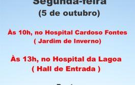Na segunda-feira (5/10) tem assembleias nos hospitais Cardoso Fontes (10h) e da Lagoa (13h)