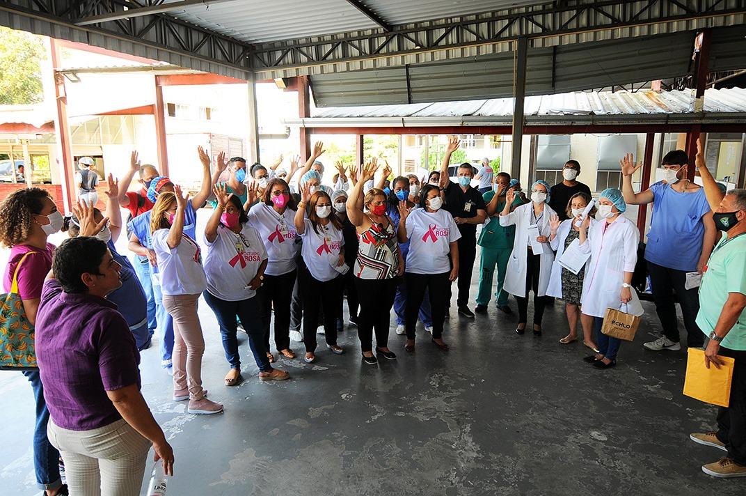 Servidores do Hospital do Andaraí repudiam demissões de contratados e dizem 'não' à reforma administrativa