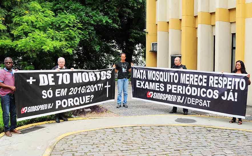 Agentes e Guardas de Endemias: respondam ao questionário do CESTEH-Fiocruz sobre condições de trabalho