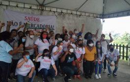 Profissionais de enfermagem da Zona Oeste comemoram vitória da Chapa 1 na eleição do Coren-RJ