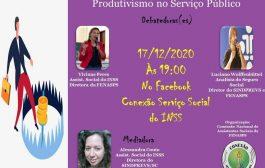 Videoconferência debate hoje (17/12) as consequências do produtivismo no serviço público