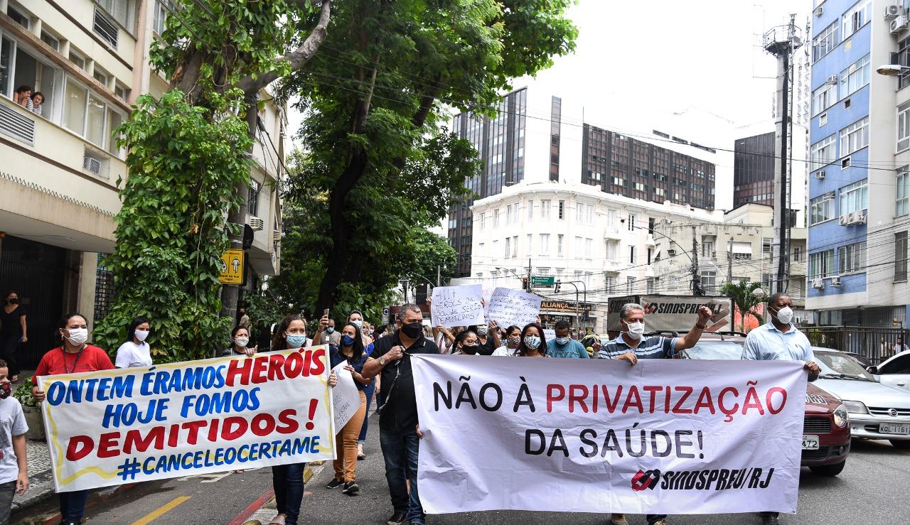 Na próxima quarta (9/12), contratados da rede federal exigem anulação de certame em nova manifestação
