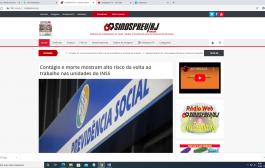 Conheça e prestigie o site e as mídias sociais do Sindsprev/RJ