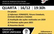 Fóruns estaduais discutem a organização de uma greve nacional dos servidores contra a reforma administrativa