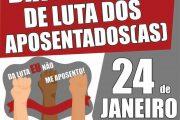Fenasps convoca servidores para as mobilizações de 24 a 31 de janeiro