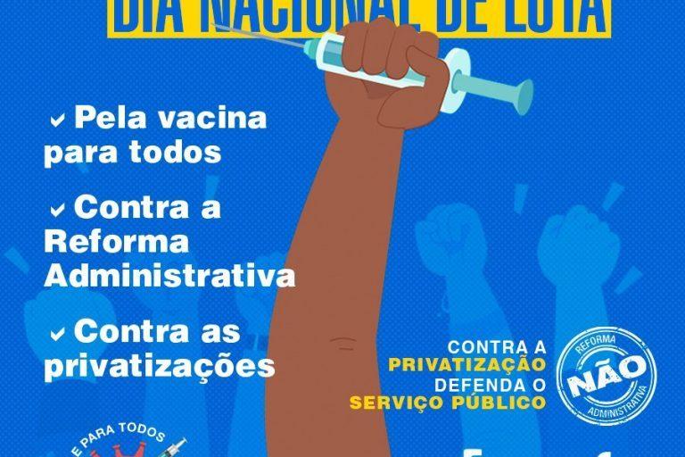 Fonasefe convoca Dia Nacional de Luta (1/2) contra os cortes de direitos e a reforma administrativa