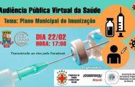 Comissão de Saúde da Câmara de Niterói promove hoje (22/2) audiência sobre plano de imunização