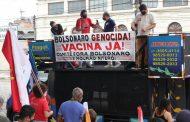 Niterói exige vacinação já, auxílio-emergencial, fim da reforma administrativa e 'Fora Bolsonaro/Mourão'