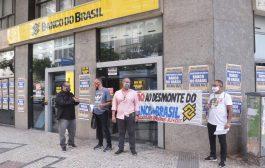 Novas paralisações dão continuidade à luta contra o desmonte do Banco do Brasil