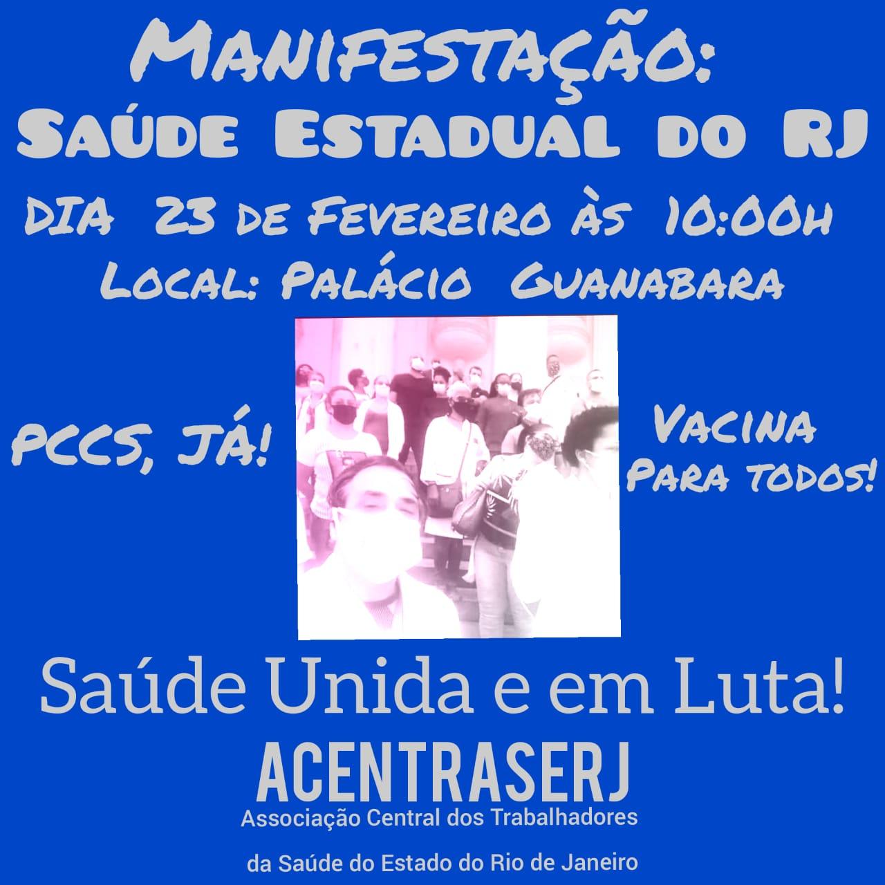Ato nesta terça (23/2), no Palácio Guanabara, vai cobrar de Cláudio Castro, o PCR (antigo PCCS)