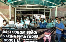 Servidores do Cardoso Fontes paralisam atividades nesta quarta (24) e exigem vacina já