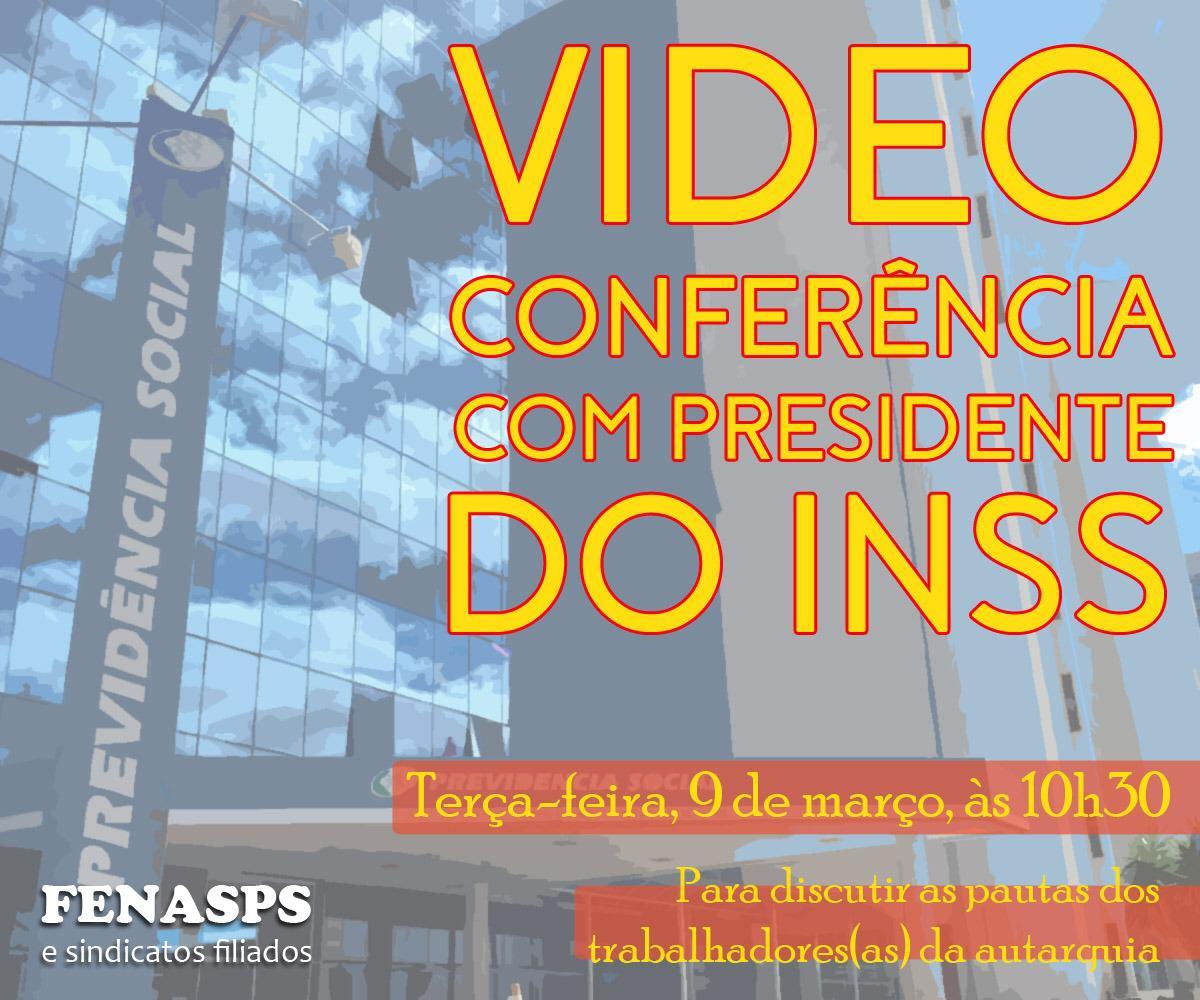 Após três meses, INSS finalmente confirma audiência com a Fenasps para terça-feira (9/3)