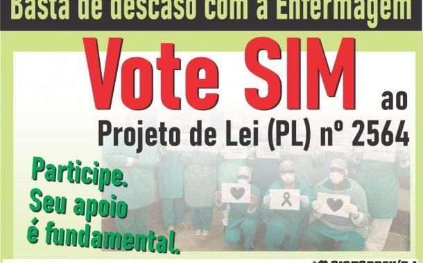 Em consulta pública do Senado, eleitores defendem PL que estabelece piso salarial dos profissionais da enfermagem