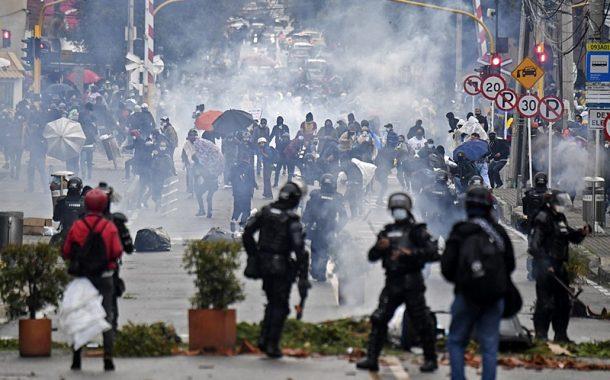 Fenasps manifesta apoio às mobilizações dos trabalhadores colombianos contra a repressão naquele país