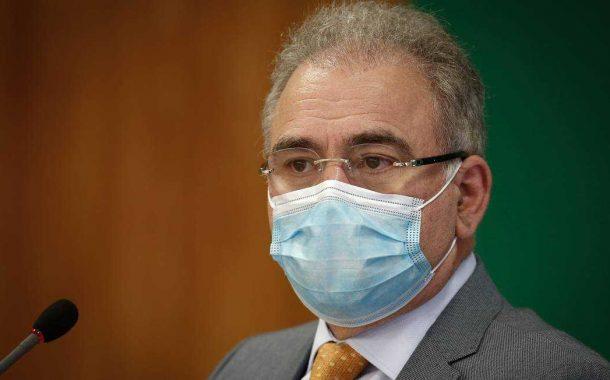 Marcelo Queiroga, atual ministro da Saúde, é ouvido na CPI do Genocídio